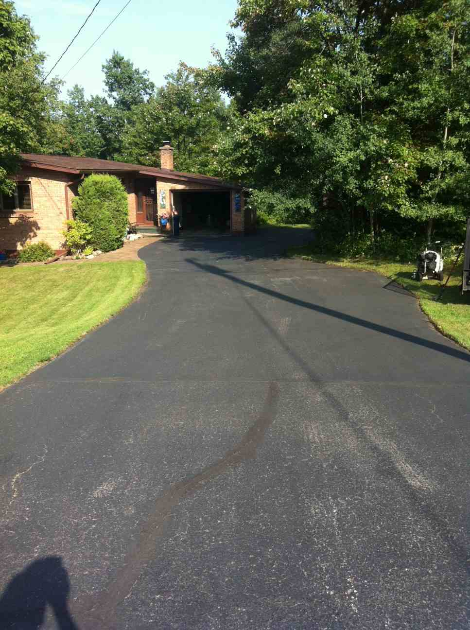 Sample Sealcoating for Driveways Project