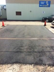 Here's another patch job on a parking lot in Duluth. An economical and environmentally frienlier way to maintain your parking lot investment.